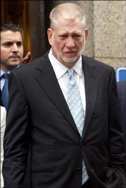 Former WorldCom CEO Bernard Ebbers leaves federal court July 13 after being sentenced for his role in the collapse of WorldCom in an accounting fraud. A judge sentenced him to 25 years in prison,  the toughest sentence yet in a string of recent corporate scandals.