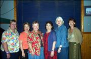 New officers of the Lawrence Women's Network for 2005-2006 are, from left, Rusty Thomas, past president; Dorothy Devlin, secretary; Connie Warkins, vice president; Janis Bunker, president; Betty Markley, treasurer; and Marsha Stevens, social director. Not pictured is Debbie Liddel, membership director. The networking organization is a business/social organization for professional and management women. It has been in existence since 1982.