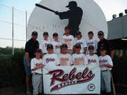 The 13-U Kansas Rebels concluded the season with a sixth place finish in the USSSA National Tournament.
