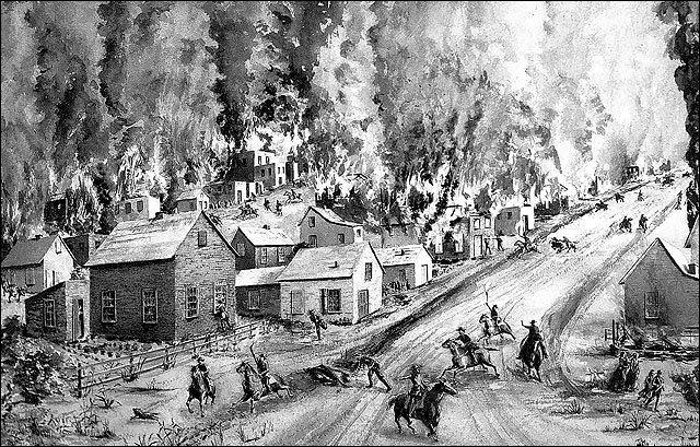 Quantrill's raid on Lawrence