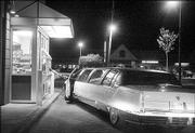 A limo full of prom-goers stops by Dunkin Donuts, 521 W. 23rd St., to grab a late-night snack after the Lawrence High School prom in April.