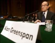 Federal Reserve Chairman Alan Greenspan testifies in March before the Senate Special Aging Committee about retirement economics. With Greenspan expected to retire early next year, economists and other Fed watchers are debating who might be tapped to fill his seat.