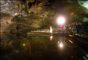 Guests board glass-bottom boats to tour the Lost Sea in Sweetwater, Tenn. The Lost Sea is the world's second-largest underground lake and draws about 150,000 visitors a year.