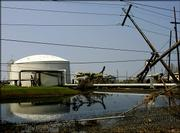 Half of the eight Gulf Coast refineries damaged by Hurricane Katrina are to begin to ramp up production this week.