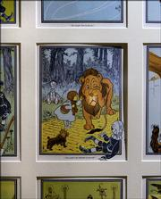 "One of 24 illustrated pages from the first edition of ""The Wonderful Wizard of Oz"" is displayed at the Wizard of Oz Museum in Wamego. The book by L. Frank Baum was the first of about 40 books written about Oz."