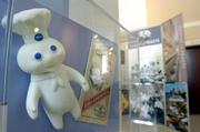 """The Pillsbury Doughboy is  part of """"Key Ingredients: America by Food,"""" a Smithsonian Institution exhibit on display through Oct. 14 at the Old Depot Museum in Ottawa."""