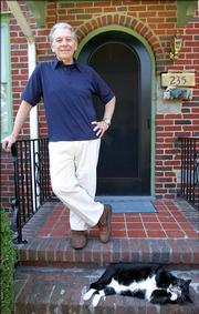 Senior citizen Robert Stratiff, who underwent weight-loss surgery in 2002, going from 360 pounds to a present weight of 170 pounds in 2005, is shown Sept. 9 at his home in Colonial Heights, Va. Stratiff swims several times a week to keep physically fit.