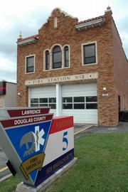 The Lawrence-Douglas County Fire & Medical Station 5 at 1839 Mass. was originally Fire Station No. 2.