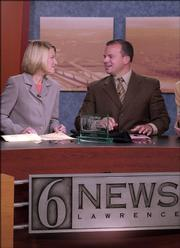 6News Anchors Janet Reid and Josh Garber close Thursday's 6 p.m. broadcast displaying the station's recently earned Walter Cronkite Award.