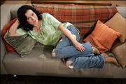 "Actress Jennifer Tilly plays Crystal on the new CBS sitcom ""Out of Practice."""