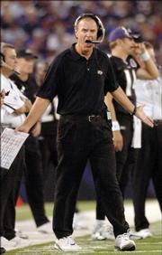 Former Baltimore Ravens coach Brian Billick.