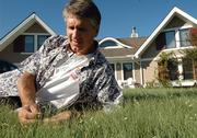 """Yard work is work. Work is a four-letter word,"" says Lawrence resident Jeff Morrow, who swears by his 