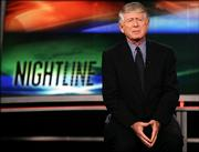 "Ted Koppel prepares for ""Nightline"" on March 31 in Washington. Koppel will anchor his last edition of ""Nightline"" on Nov. 22, with the first post-Koppel edition of the ABC newscast airing Nov. 28, the network said Thursday."