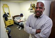 James Settles, right, who helped start the faith-based halfway house called Aphesis in Nashville, Tenn., said he was inspired by his own experience in a halfway house after spending eight years in prison for selling drugs.