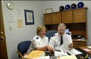 Susan and Wesley Dalberg discuss upcoming events for the Salvation Army of Lawrence.