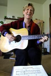 """Libby Roderick never set out to write the song heard round the world, but a global audience has embraced her simple folk tune, """"How Could Anyone."""""""