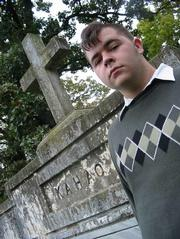 "Justin Bergen, 17, frequently visits Oak Hill Cemetery to search for the paranormal. He says that he can sense changes in temperature and feelings of ""heaviness"" in the air."