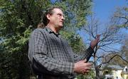 Richard Morantz, a rural Douglas County resident, is organizing an effort to convince Lawrence leaders to adopt a new tree protection ordinance.