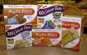 Keebler Right Bites and Nabisco 100 Calorie Packs have become popular products. Food companies are handling calorie-counting for consumers by serving up prepackaged snacks, each with about 100 calories.