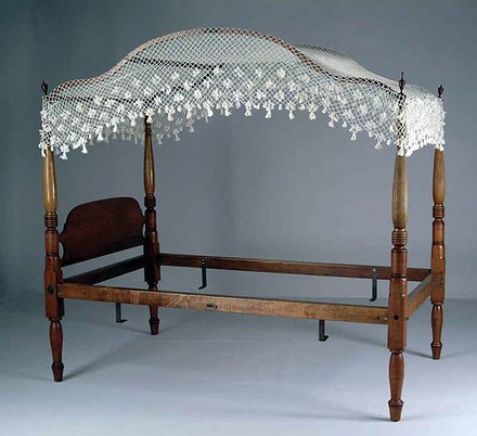 Arched Bed Canopy Cover