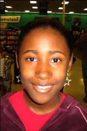 <strong>Jamesha Flanagan, Schwegler School, sixth grade</strong><br/>