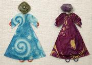 The Gradens see art in just about everything. DaeRa even makes tiny people out of paper clips, spare fabric and jewels.