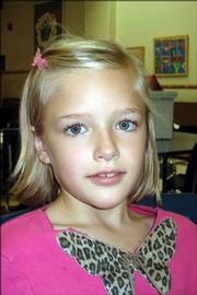 <strong>Sydney Bollinger, second grade, Quail Run School</strong><br/>
