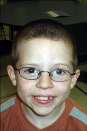 <strong>Corey Mann, first grade, Quail Run School</strong><br/>