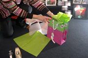 For the present-wrapping impaired, a gift bag offers all of the flair without the need for precision associated with wrapping paper.