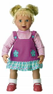 Amazing Amanda, an interactive doll, is among toys that are in demand this holiday season.
