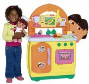 Dora's Talking Kitchen is among this season's hot toy buys.
