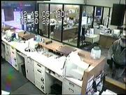 Security camera footage of the bank robber.