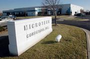 Microtech Computers Inc. no longer wants to take advantage of a tax break approved by Lawrence city commissioners in 1996, when the company was planning its move to this site at 4921 Legends Drive, an estimated $2.1 million project. The company has been receiving a break on 50 percent of its annual property taxes, but this month agreed to pay the full amount - $60,438 - because it has been unable to keep its employment levels as high as projected at the time of the abatement's approval.