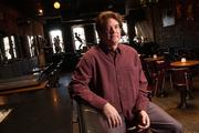 Rick McNeely, owner of Jazzhaus, 926 1/2 Mass., is one of few Lawrence bar owners who support the smoking ban.