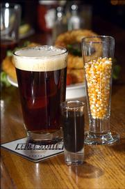 """Free State Brewery is one of 109 breweries in 35 states offering """"Poor Richard&squot;s Ale"""" today to celebrate what would have been the 300th birthday of Ben Franklin. Free State will be selling pints of the ale for $1.75 - down from the normal $3 price."""