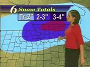 The 6News snow forecast shows up to 2 inches for Douglas County.