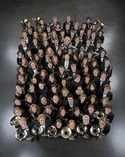 The St. Olaf band will perform at 7 p.m. today at Free State High School. Two Free State alumnae are band members.