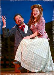 "The NETworks national tour of ""Oklahoma"" entertained a capacity audience Thursday night at the Lied Center."