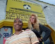 In response to the threat of criminal charges hanging over them, Guy and Carrie Neighbors, the owners of Yellow House store, 1904 Mass., are planning an open house from noon to 4 p.m. Saturday with free food for the public. Their attorney will also be present to answer questions.