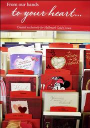 Hallmark Gold Crown cards are on display at Audrey's Hallmark in Lawrence. Hallmark Cards Inc. said Thursday its 2005 sales stayed flat at $4.2 billion when adjusted for two subsidiaries it has sold. The nation's largest greeting cards maker also said annual profits were down as the company continued pouring money into updating Hallmark Gold Crown stores.