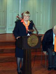 Patricia N. Long was named the 28th president of Baker University. She takes over July 1 after the retirement of Dan Lambert, who served 19 years.