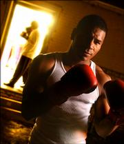 Boxer Marcus Oliveira, Lawrence, a former Haskell Indian Nations University basketball player will soon be stepping into the ring to make his professional debut.