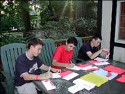 """Students with Manhattanville College&squot;s My Soldier Program, based in New York, write pen pal letters to deployed troops. Not only do the letters make a good spring break project, they can strengthen writing skills. Visit <a href=""""http://www.mysoldier.com"""">www.mysoldier.com</a> for more information."""