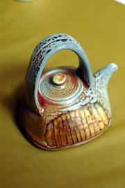 Tea pot, by Cathi Jefferson, of Vancouver, British Columbia, Canada