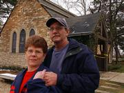 Tina Lemon and her fiance, Danny Stice, are one of several couples who recently had to rearrange their wedding plans because of damage at Danforth Chapel on the Kansas University campus. The March 12 storm caused extensive roof damage to the chapel near 14th Street and Jayhawk Boulevard. Lemon and Stice are moving their April 8 wedding from the chapel to Lawrence Evangelical Friends Church, 1601 N.H.