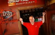 Doug Holiday, co-owner of Bigg's Barbecue explains that business at Bigg's jumps 50 percent on Chiefs game days. On April 4, Jackson County voters will decide whether to approve financing for renovations to Arrowhead and Kauffman stadiums.