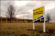 This office building along with two warehouses on the former Farmland Industries fertilizer plant property is on the market for lease.