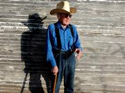"Cowboy Roy Morgan has lived in Chase County in the heart of the Flint Hills since 1939. Morgan has gathered and chased cattle, and he&squot;s broken and shoed horses. Today he&squot;s slowed a little by arthritis and emphysema, but he still rides his horse in a feedlot nearly every day. The lives of cowboys like Morgan are chronicled in ""Flint Hills Cowboys."""