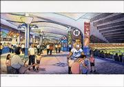 Artist's rendering of Kauffman Stadium concourse improvements.