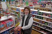 Margaret Warner, co-owner of the Toy Store, 936 Mass., estimates that the business makes 60 percent of its sales in the last six weeks of the year, making holiday profits critical for her business.